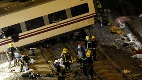 At least 35 killed after train crash in