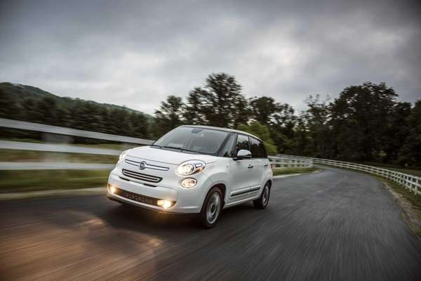 The 2014 Fiat 500L, also known as the