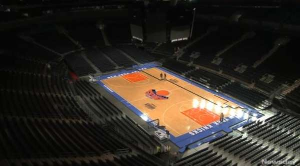 CEO Hank Ratner shows Madison Square Garden after