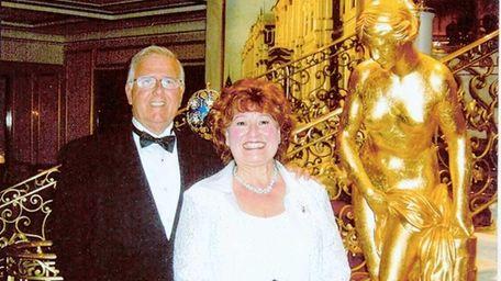 John and Madeline Carey of South Setauket in