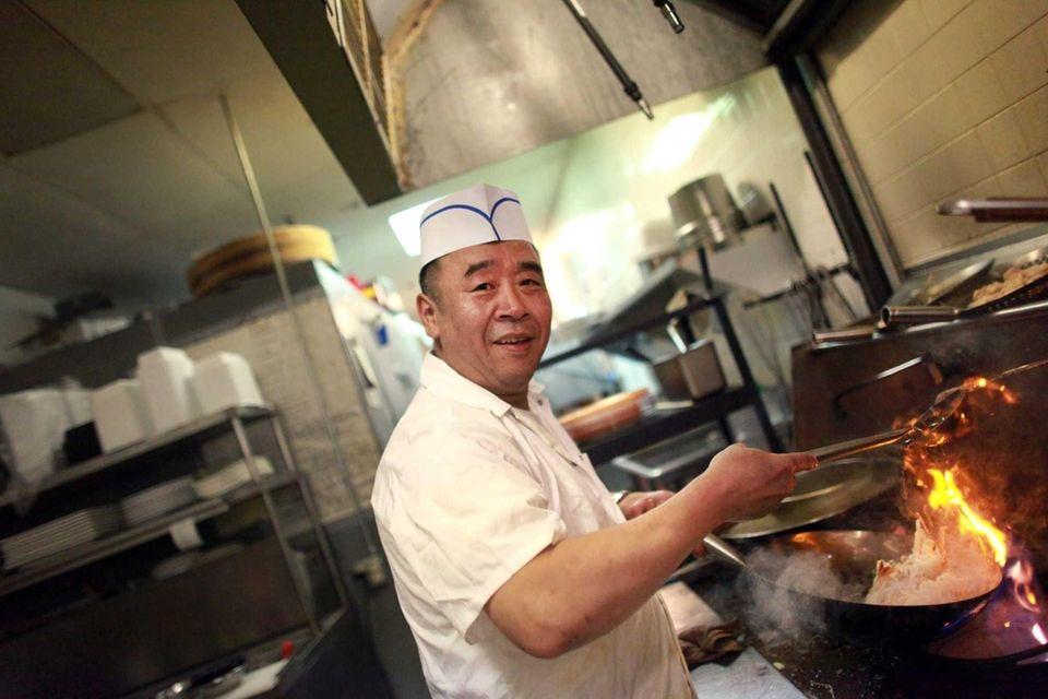 Chef Teng at Sake Asian restaurant in West