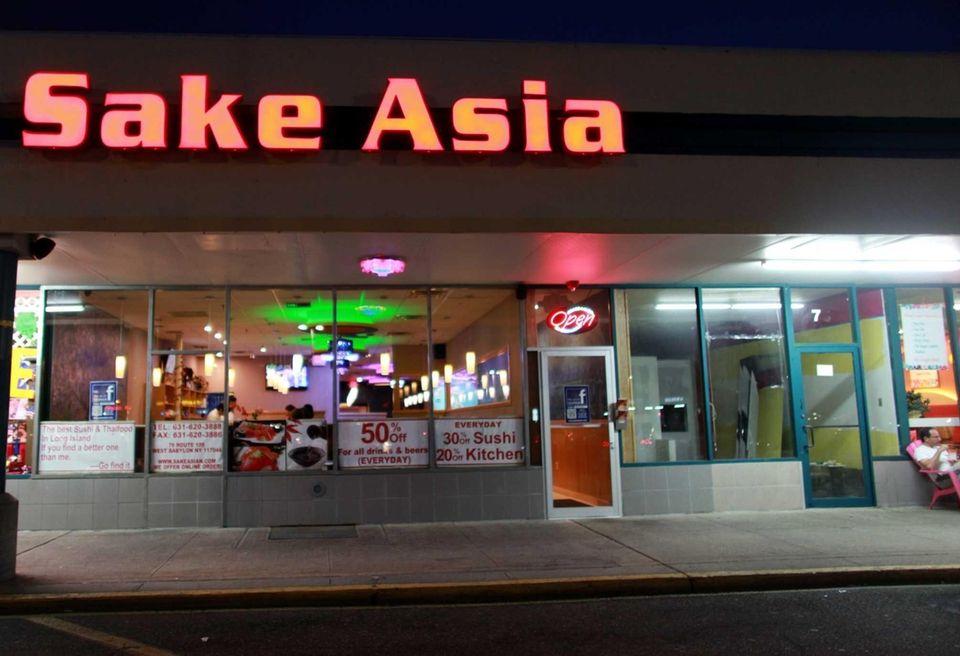 Sake Asian restaurant, located in West Babylon. (July