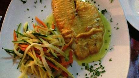 Filet of sole Francese at The Main Event