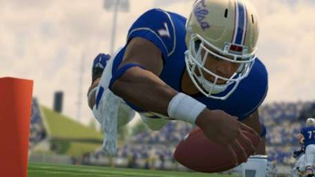 Screen frame from NCAA 14 from EA Sports