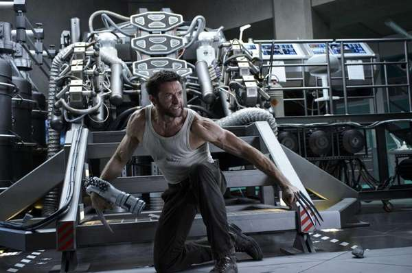 "Hugh Jackman in a scene from ""The Wolverine."""