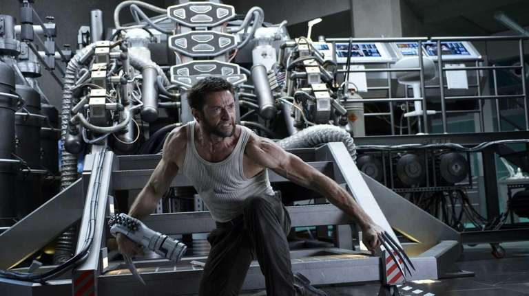 Hugh Jackman in a scene from