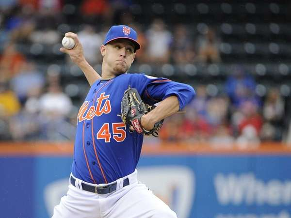 Starting pitcher Zack Wheeler of the New York