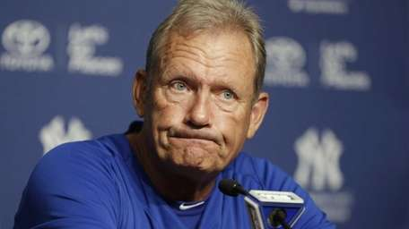 Kansas City Royals interim hitting coach George Brett