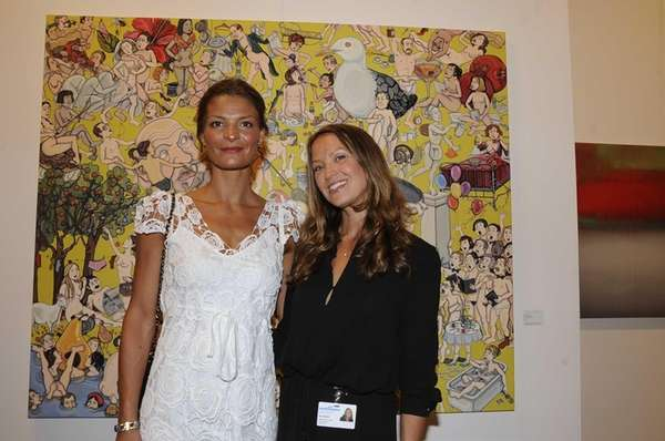 Denitza Brougham and Beth McNeil attended the Gala