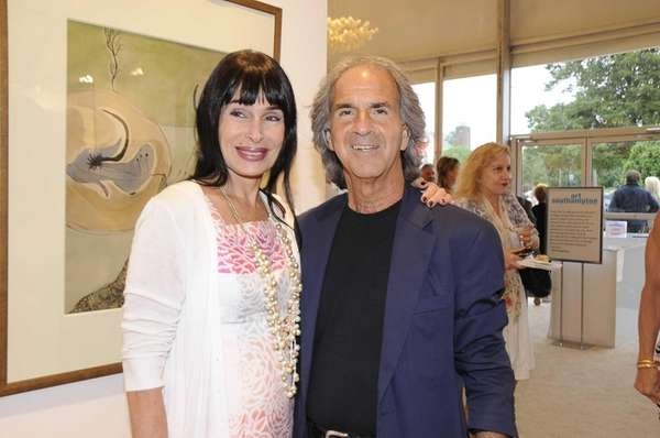 Raven and Howard Teich attended the Gala Opening