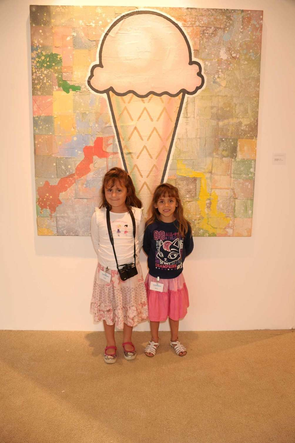 Ana Carolina and Lucia Maria attend the opening