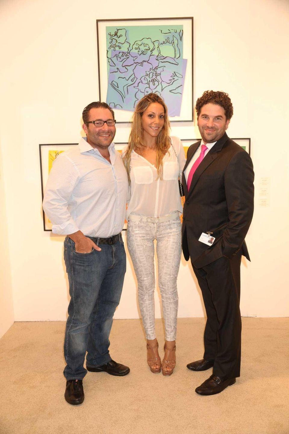David Shahara, Morgan Shara and Ryan Ross attend