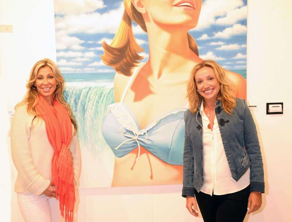 Laura Royter and Ana Gerzon attend the opening