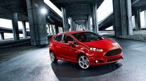 The 2014 Fiesta ST packs 197 horsepower and