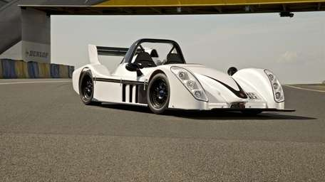 The Radical SR3 is an open cockpit sports