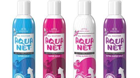 Aqua Net Professional Hair Spray, a classic American