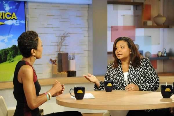 Robin Roberts interviews Juror B29, known as Maddy,