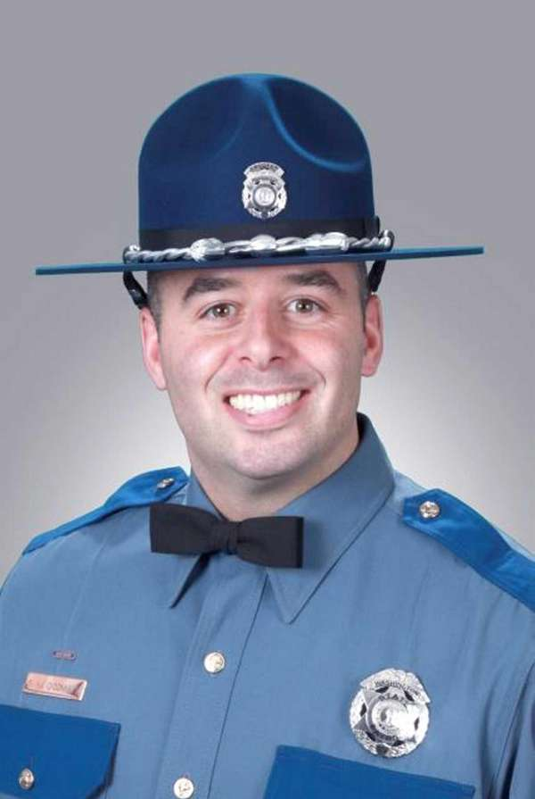 A memorial service for Washington State Trooper