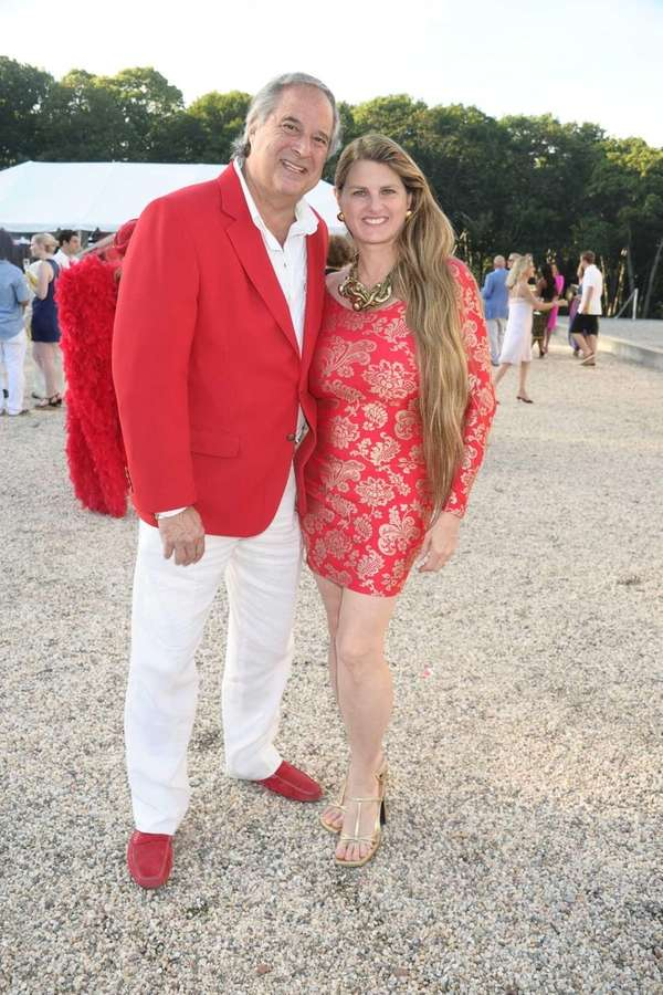 Broadway producers Stewart Lane and Bonnie Comley attend