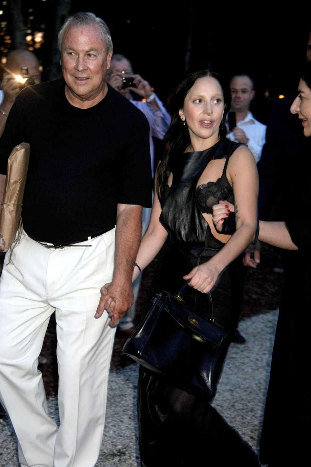 Robert Wilson and Lady Gaga attend Devil's Heaven,