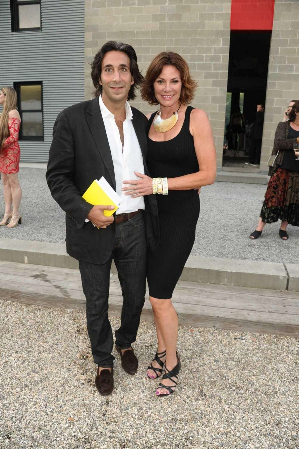 Jacques Azoulet and Countess LuAnn de Lesseps attend
