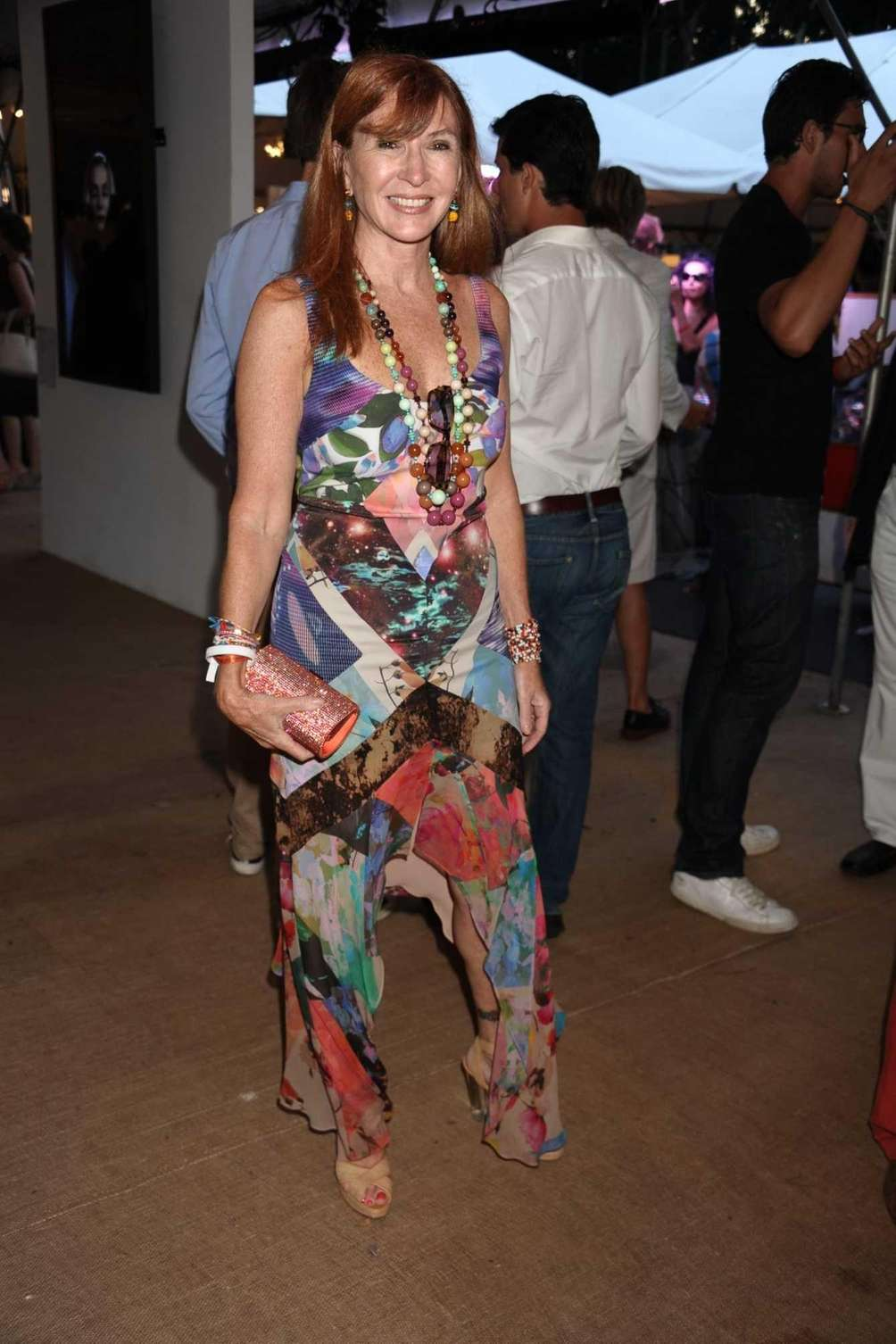 Fashion designer Nicole Miller attends Devil's Heaven, the