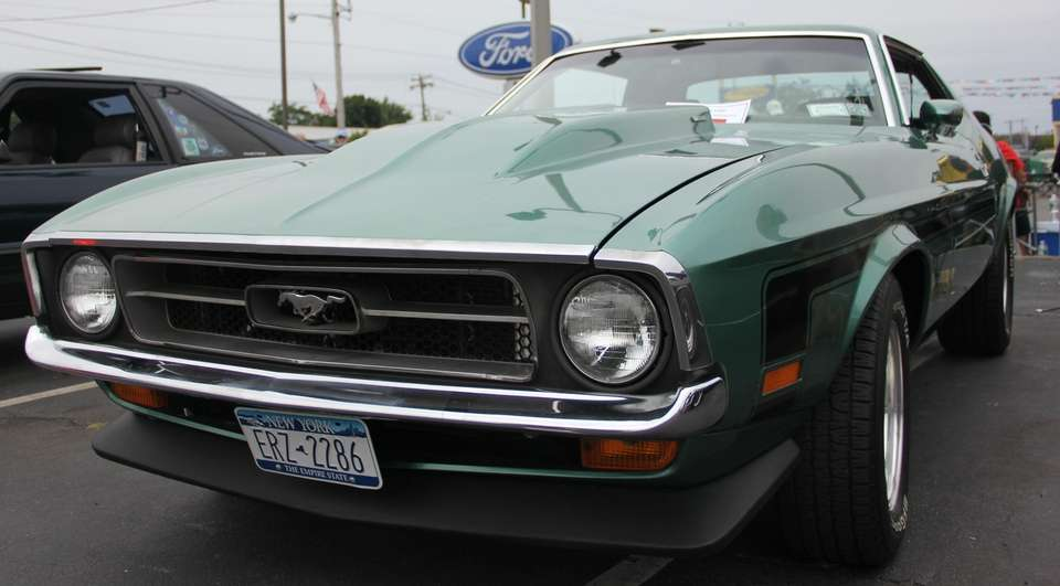 A 1972 Ford Mustang owned by Fred Ackermann