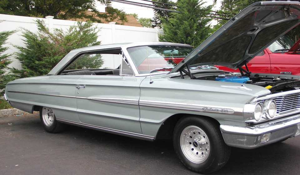 A 1964 Ford Galaxie 500 owned by John