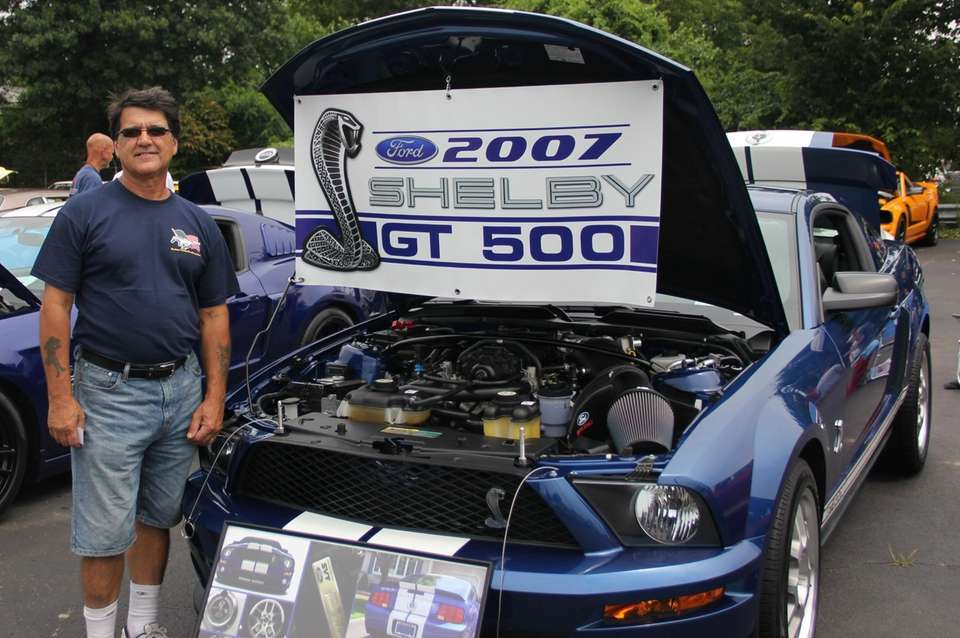 A 2007 Shelby GT 500 owned by Al