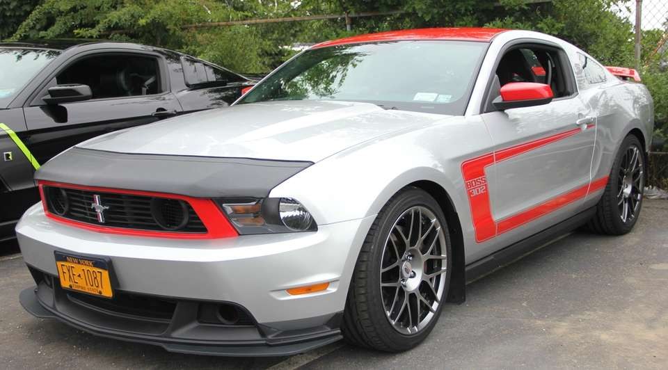 A 2012 Mustang Boss 302 owned by Phil