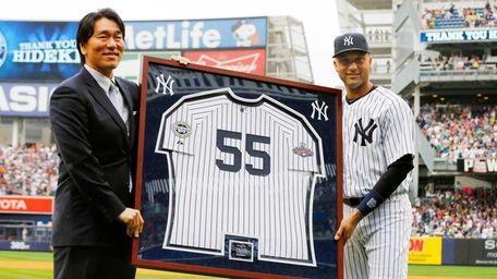 NEW YORK, NY - JULY 28: Derek Jeter