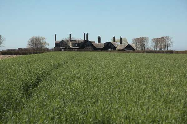 The Halsey family's farm in Suffolk County. The