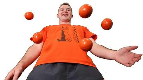 Juggling artist, Jester Jim will be performing at
