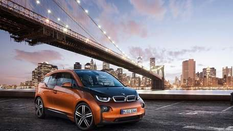BMW's new i3, a battery-powered compact car, will