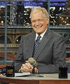 David Letterman was a topic of discussion at
