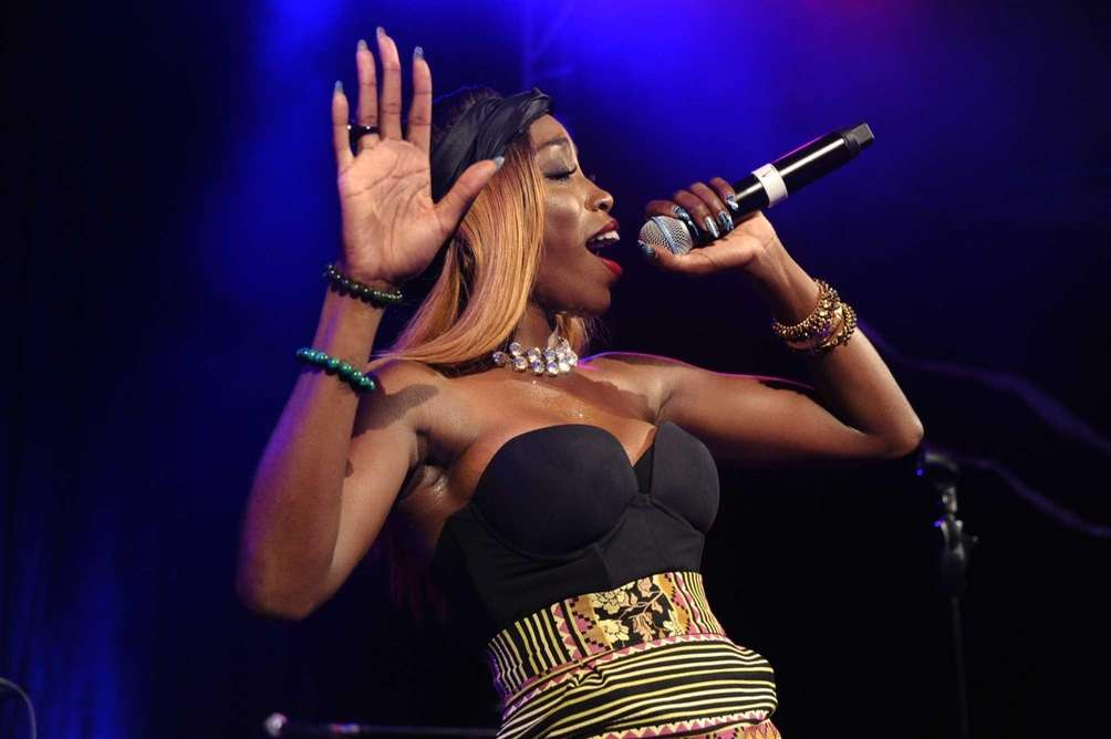 Estelle performs at Russell Simmons' Art for Life