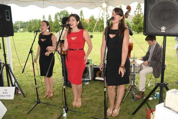 Lily and the Parlour Tricks perform at the