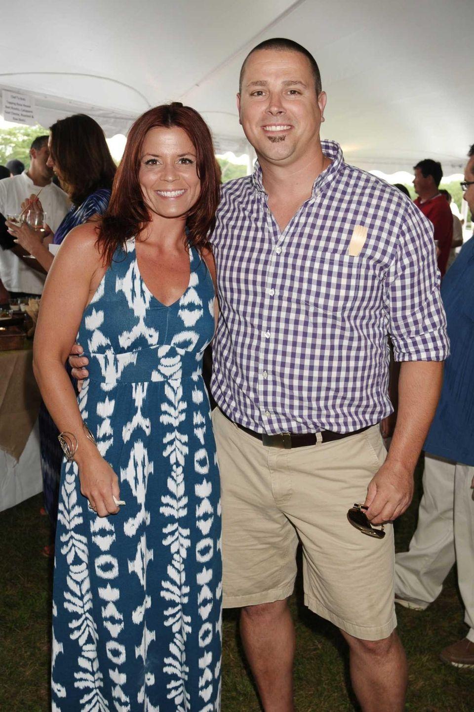 Jennifer Savnik and Charlie Savnik attend the 2013
