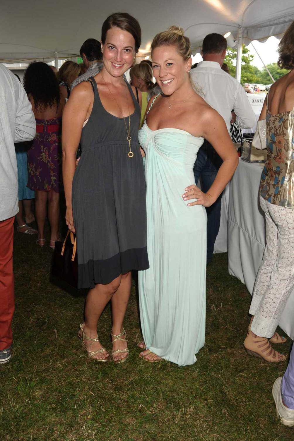 Ashley Boer and Meredith Shumway attend the 2013