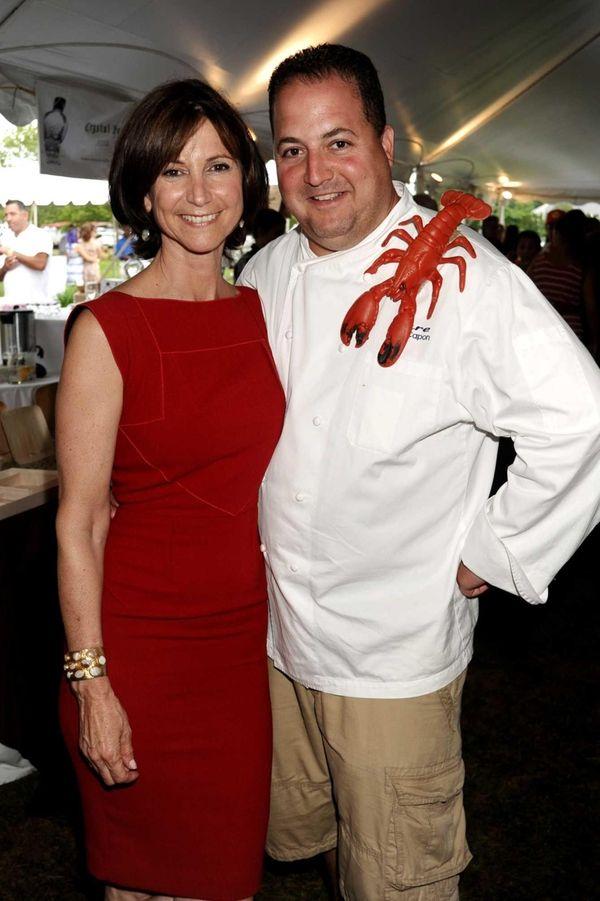 Toni Ross and John Capon of Lure Fish
