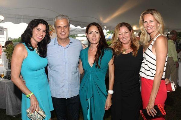 Sondra Ripert, Eric Ripert, Fashion designer Catherine Maladrino,