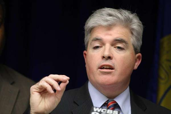 Suffolk County Executive Steve Bellone, who had proposed