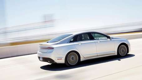 The 2013 Lincoln MKZ is a lavish version