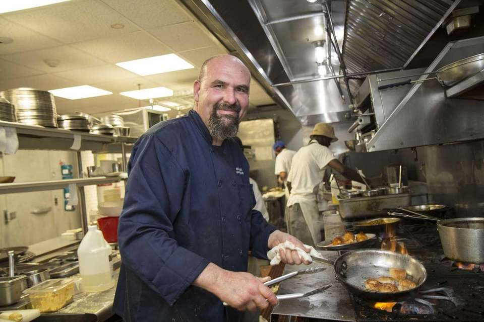 David Girard, chef and co-owner of Buoy One