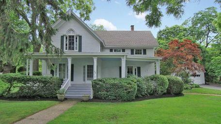 The historic Stony Brook Victorian, built for Jonas