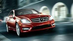 The Mercedes-Benz C-Class was the most stolen luxury