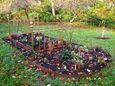 A garden where the gardener found a creative