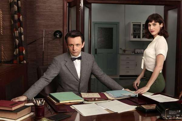 Michael Sheen as Dr. William Masters and Lizzy