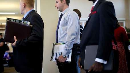 The nation's unemployment rate is still high at