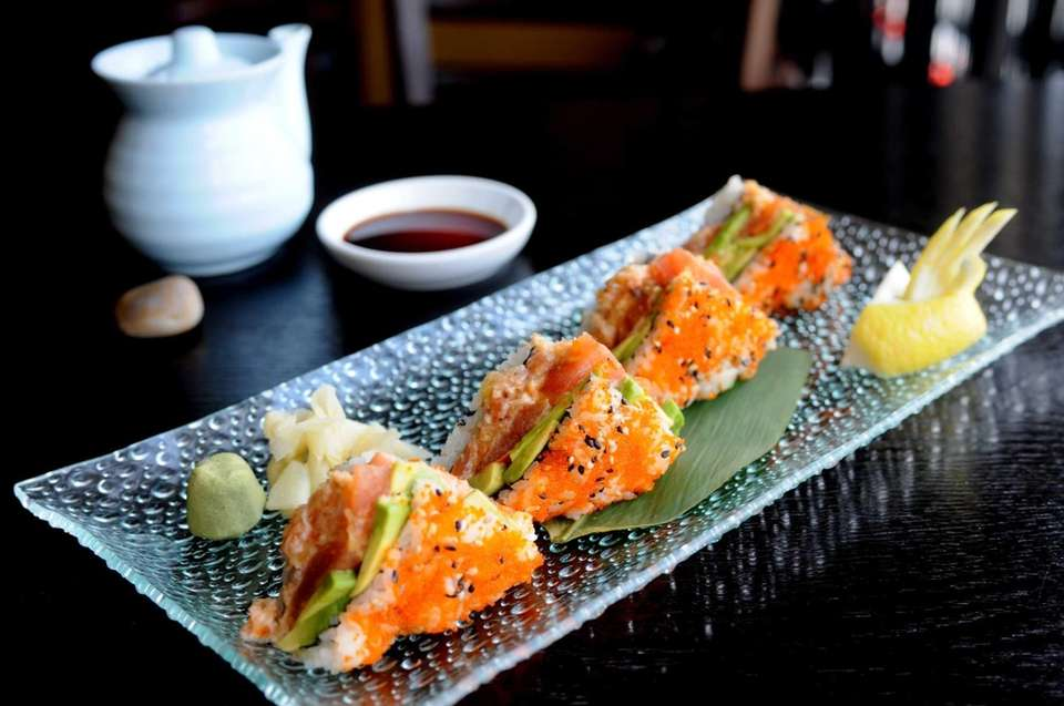 Invincible sandwich roll at Arata Sushi, Syosset: In